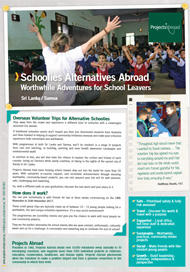 Projects Abroad - Alternative Schoolies