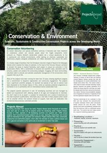 Projects Abroad - Conservation Projects