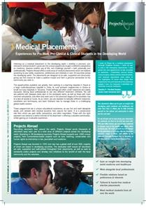 Projects Abroad - Medical Elective Placements