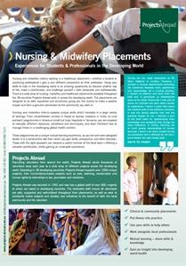 Projects Abroad - Nursing & Midwifery Placements