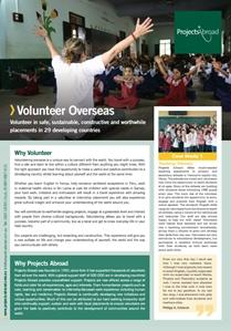 Projects Abroad - Volunteer Overseas Overview