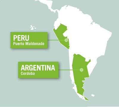 Projects Abroad is based in Puerto Maldonado, Peru, and Cordoba, Argentina