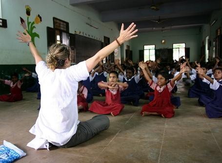 Volunteering in India