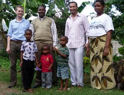 Host family in Tanzania