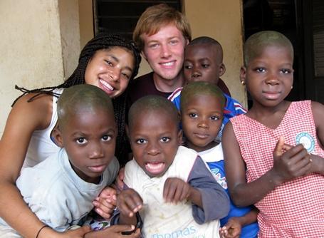Volunteer in Togo
