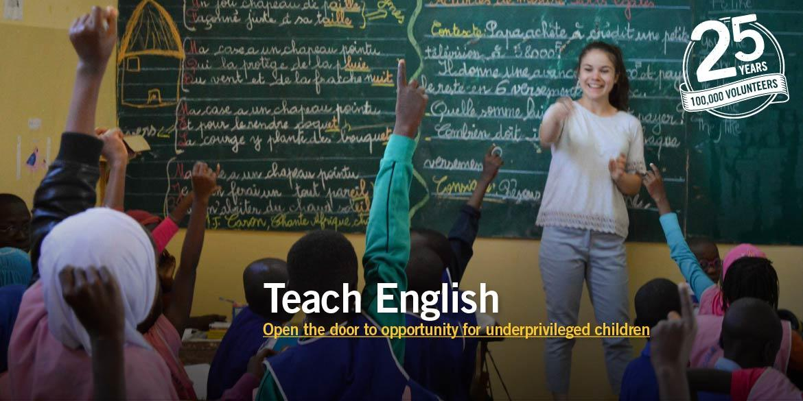 Projects Abroad Teaching volunteer