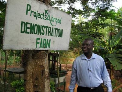Community Farming project in Ghana