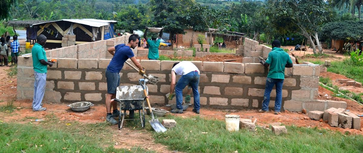 Community house building projects