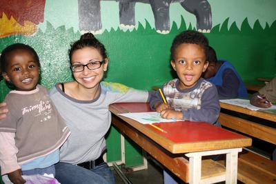 Projects Abroad Care volunteer in Ethiopia