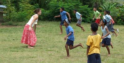 Gap Year work with Children in Fiji