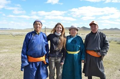 Volunteer overseas with nomads in Mongolia
