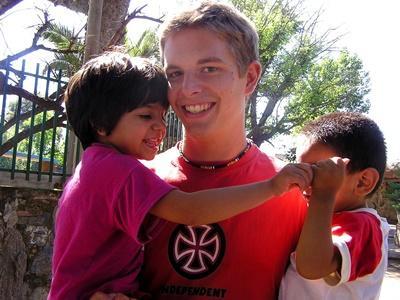 Overseas volunteering for students