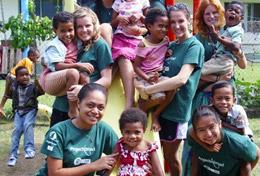 Volunteer in Fiji for High School: Community Village Project