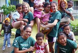 Volunteer in Fiji for High School: Community Village Project