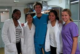 A group of high school students gain medical work experience and learn Spanish together during an internship in Argentina.