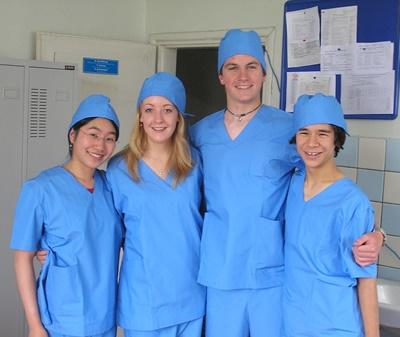 Medical High School Special Volunteers Abroad