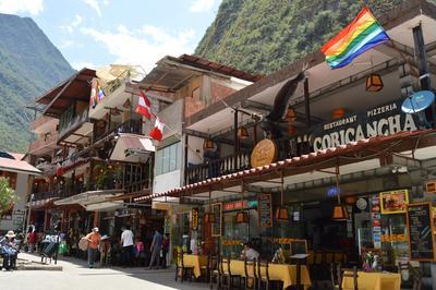 Scenery in Peru