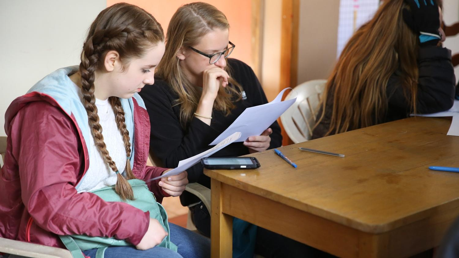Projects Abroad volunteers learning Spanish in Peru