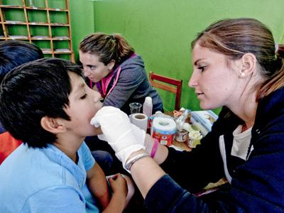 Overseas Healthcare work in Peru