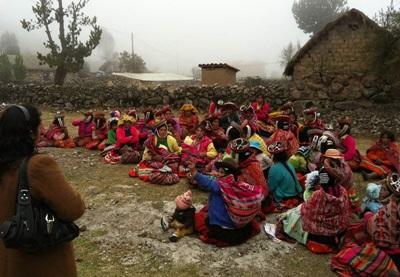 Visiting a rural community