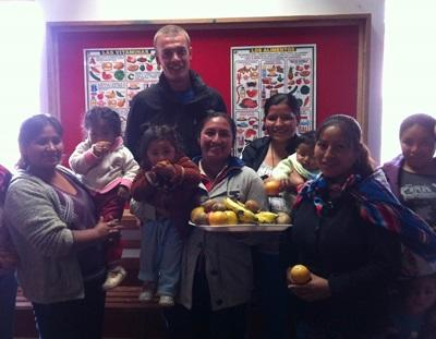 Volunteer on Nutrition Project