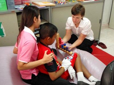 Volunteer Occupational Therapy Projects in Cambodia