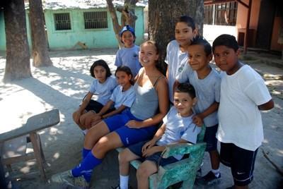 Schools Sports work in Costa Rica