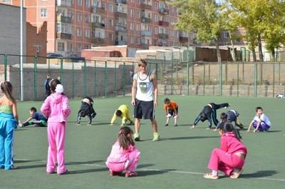 Volunteer Coaching sports in Mongolia