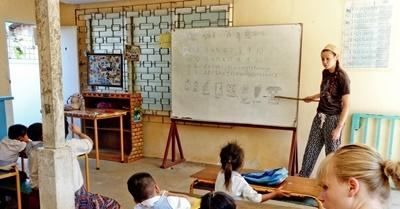 Teaching and projects abroad