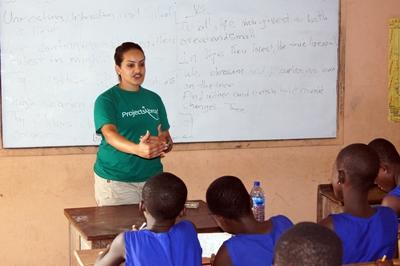 Volunteer on the Teaching project in Madagascar