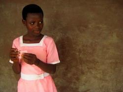 Work with children in Africa